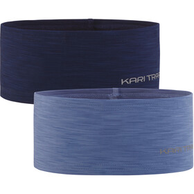 Kari Traa Nora Headband 2-Pack Women, denim